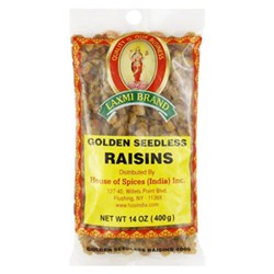 Picture of Laxmi Golden Raisin 14oz