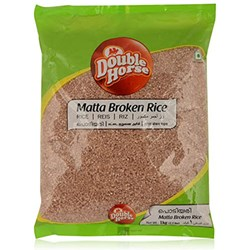 Picture of Double Horse Matta Broken Rice 1 kg