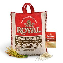 Picture of Royal Brown Basmati Rice 10lb