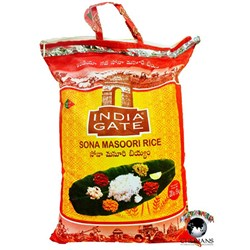 Picture of India Gate Sona Masoori Rice 20lb