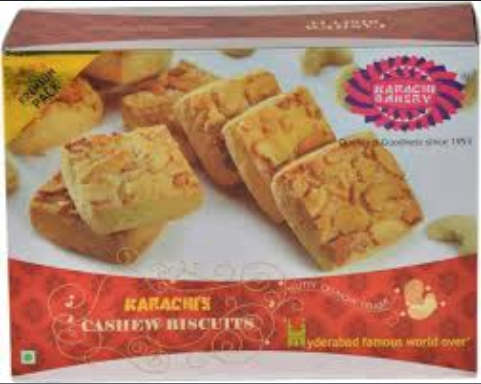Picture of Karachi Bakery Cashew Biscuit 400gm