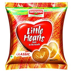 Picture of Britannia Little Hearts 2.62oz