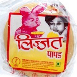 Picture of Lijjat Plain Papad 200gm