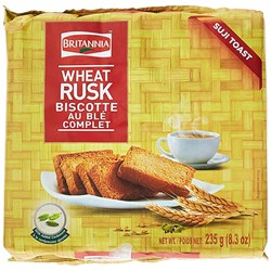 Picture of Britannia Toastea Wheat Rusk 235gm.