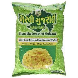 Picture of Garvi Gujarat Yellow Banana Wafer 10oz