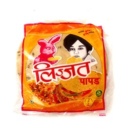 Picture of Lijjat Jeera Papad 200gm