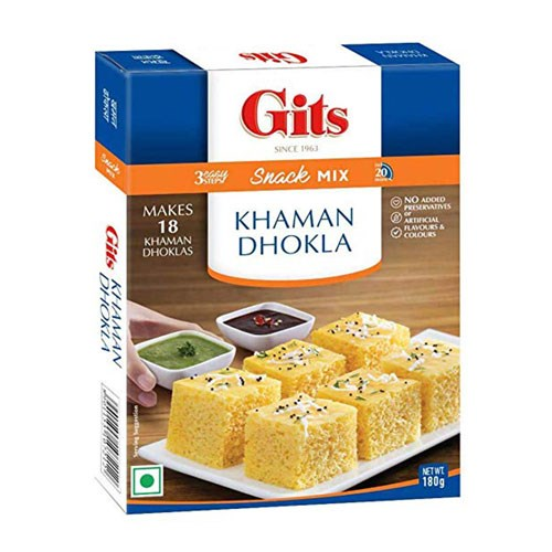 Picture of GITS Khaman Dhokla 180gm.