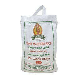 Picture of Laxmi Sona Masoori Rice 10lb
