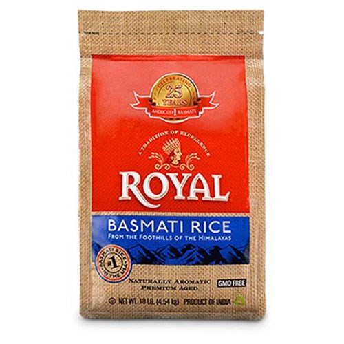 Picture of Royal Basmati Rice 10lb