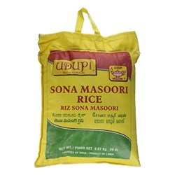 Picture of Udupi Sona Masoori Rice 20lb