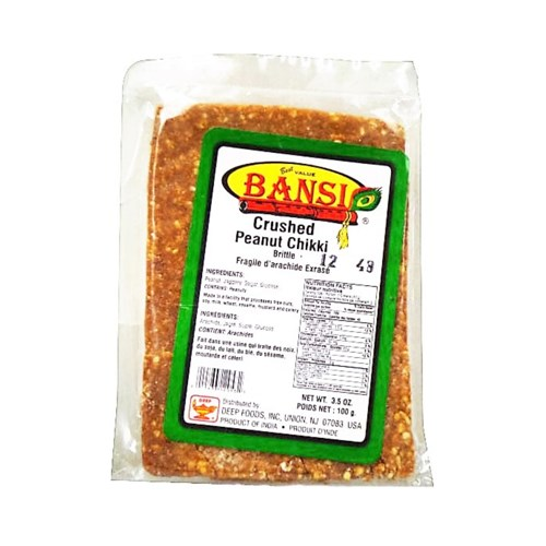 Picture of Bansi Crush Peanut Chiki 3.5oz