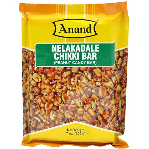 Picture of Anand Peanut Chikki bar 200gm
