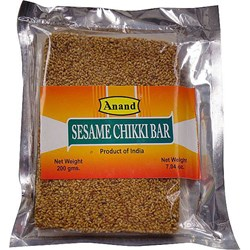 Picture of Anand Sesame Chikki Bar 200gm