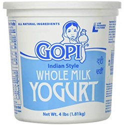 Picture of Gopi Whole Milk Yogurt 4lb