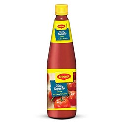 Picture of Maggi Tomato Sauce No Onion No Garlic 500gm