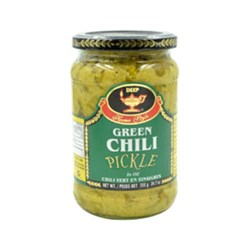 Picture of Deep Green Chilli Pickle 27oz