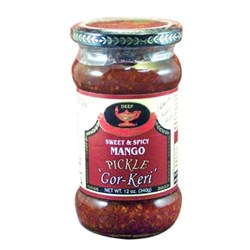 Picture of Deep Sweet & Spicy Mango Pickle 12oz