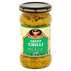 Picture of Deep Green Chilli Pickle 10oz