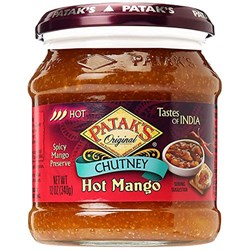 Picture of Patak Patak's Mango Chutney Hot 12oz