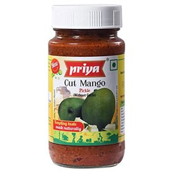 Picture of Priya Cut Mango Pickle  300gm