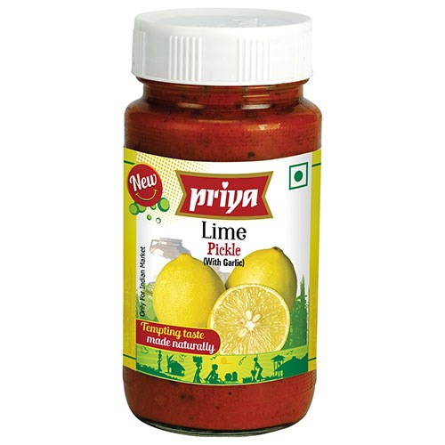 Picture of Priya Lime Pickle With Garlic 300gm