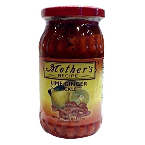 Picture of Mother's Lime Ginger Pickle 300gm