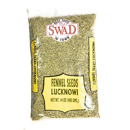 Picture of Swad Fennel Lucknowi Seeds 14oz.