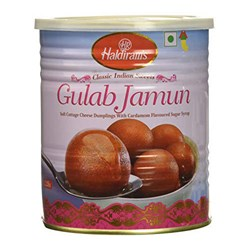 Picture of Haldiram Gulab Jamun (Can) 1kg