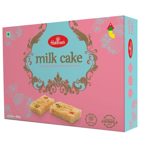 Picture of Haldiram's Milk Cake 340gm