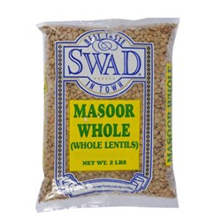 Picture of Swad Masoor Whole 2lb.