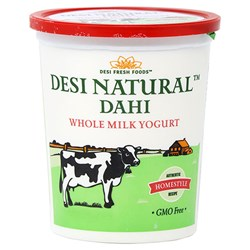 Picture of Desi Dahi Yogurt Whole Milk 5lb