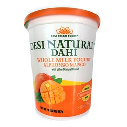 Picture of Desi Dahi Natural Dahi Alphonso Mango 32oz