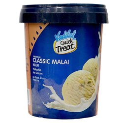 Picture of Vadilal Quick Treat Classic Malai Kulfi Ice Cream 1ltr