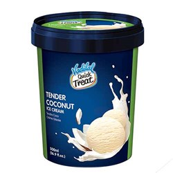 Picture of Vadilal Quick Treat Tender Coconut Ice Cream 500mL