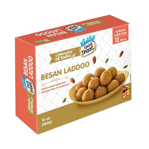 Picture of Vadilal Besan Laddoo 12pc.