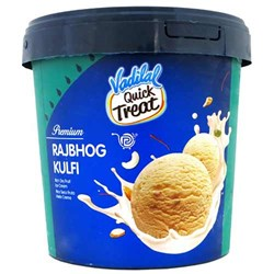 Picture of Vadilal Quick Treat Rajbhog Kulfi Ice Cream 2ltr