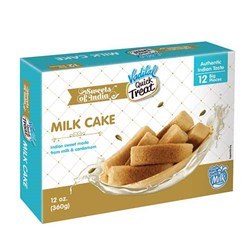Picture of Vadilal Quick Treat Milk Cake Indian Dessert 12 pack