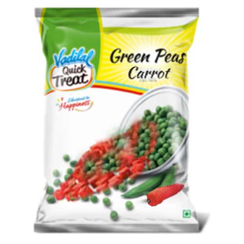Picture of Vadilal Green Peas & Carrots 312gm.