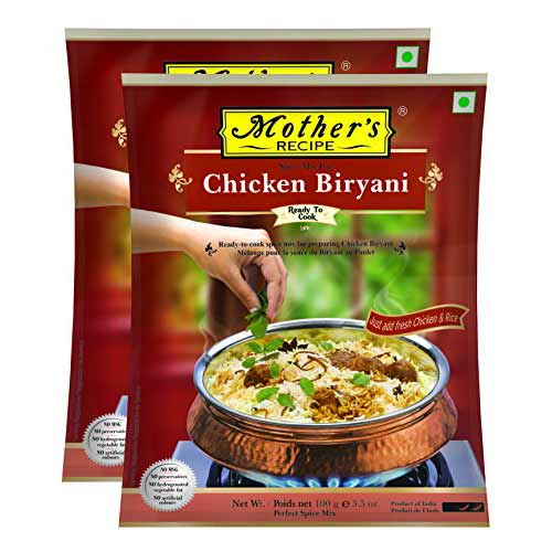 Picture of Mother's Recipe Chicken Biryani Spice Mix 100gm.