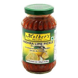 Picture of Mother's Recipe Andhra Lemon (Citron) Pickle 300gm