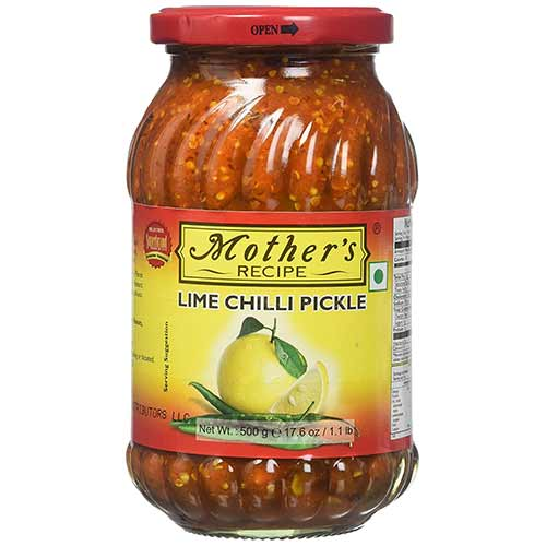 Picture of Mother's Recipe Lime Chili Pickle 500gm