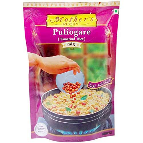 Picture of Mother's Recipe Puliogare (Tamarind Rice) Paste Spice Mix 100gm