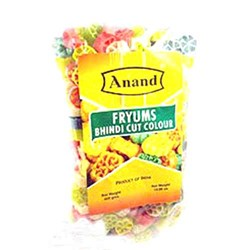 Picture of Anand Fryums Bhindi Cut Colour Colors 400gm