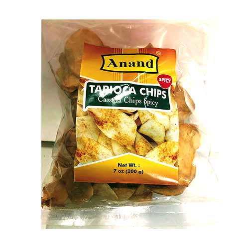 Picture of Anand Tapioca Chips Spicy 7oz