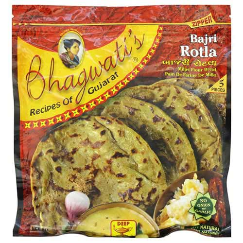 Picture of Bhagwati's Frozen Bajri Rotla 11.75oz
