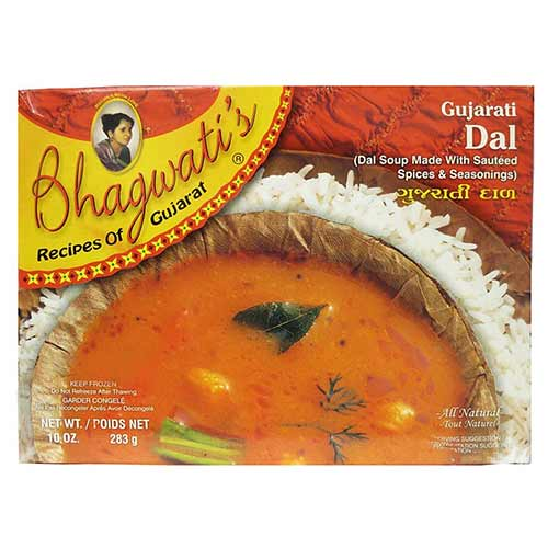 Picture of Bhagwati's Frozen Gujrati Dal Daal 10oz