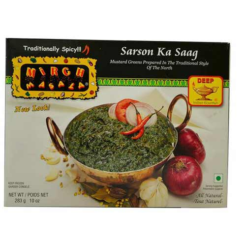 Picture of Mirch Masala Frozen Sarson Ka Saag 10oz