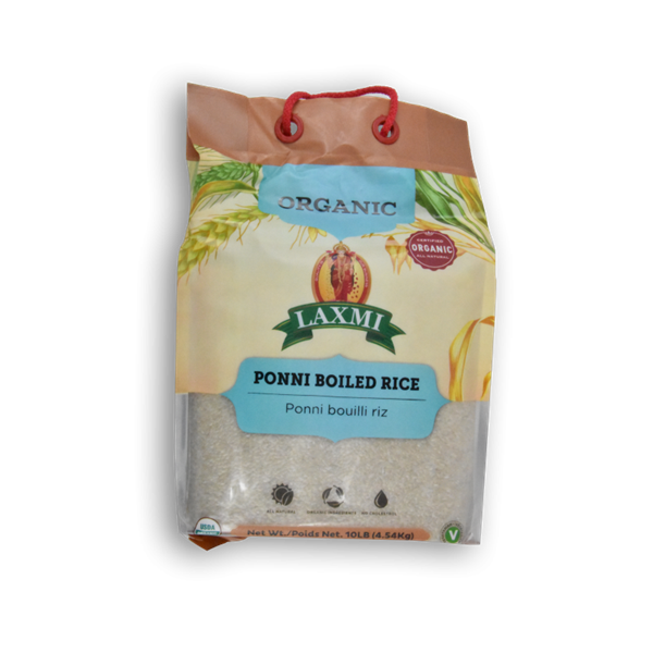 Picture of Laxmi Organic Ponni Boiled Rice 10lb.