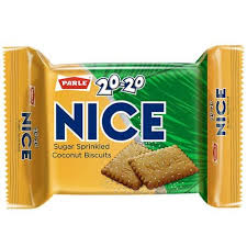 Picture of Parle 20-20 Nice Biscuits 75gm.