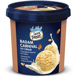Picture of Vadilal Badam Carnival Ice Cream 100mL.